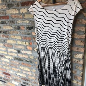 Loft ladies sleeveless asymmetrical dress